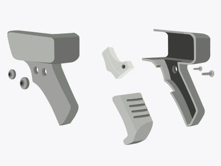TISPLUS Hardware-Zubehör für die Logistik: Prototyp