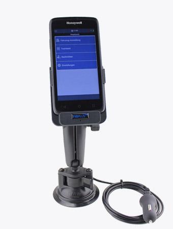 TISPLUS Hardware-Zubehör für die Logistik: Fahrzeughalterung für Honeywell EDA50