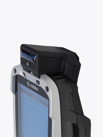 TISPLUS Hardware-Zubehör für die Logistik: Snap-on Adapter für Zebra TC8000